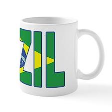 Brazil Soccer Flag  Mug