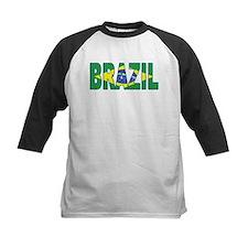 Brazil Soccer Flag  Tee