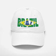 Brazil Soccer Flag Baseball Baseball Cap