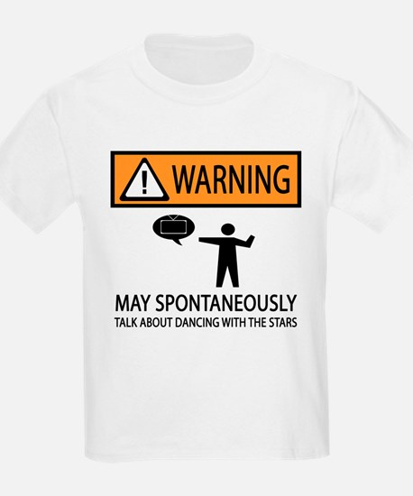 Spontaneously Talk Dancing With the Stars T-Shirt
