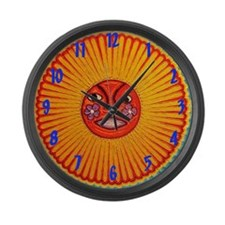 Huichol String art Wall Clock Large Wall Clock