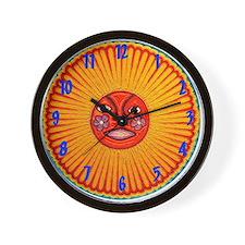 Huichol String Art Wall Clock Wall Clock