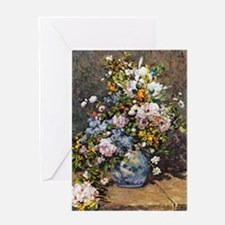 Bouquet of Spring Flowers Greeting Card