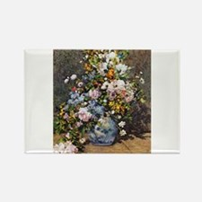 Bouquet of Spring Flowers Rectangle Magnet