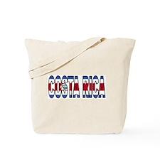 Costa Rica Soccer Flag  Tote Bag