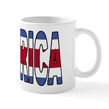 Costa Rica Soccer Flag  Mug