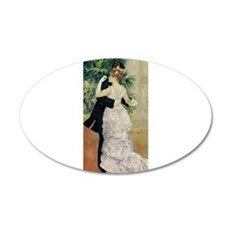 Dance in the City 22x14 Oval Wall Peel