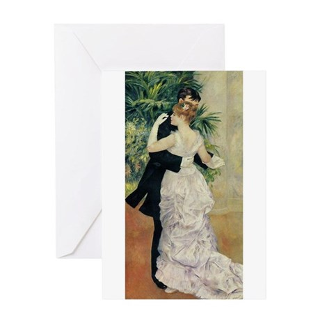 Dance in the City Greeting Card