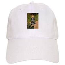 Girl with Watering Can Baseball Cap