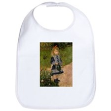 Girl with Watering Can Bib