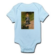 Girl with Watering Can Infant Bodysuit