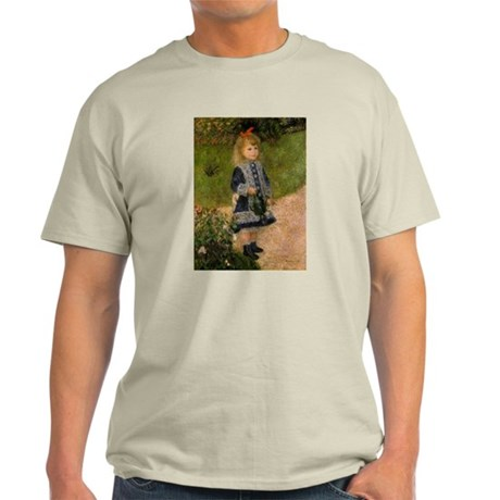 Girl with Watering Can Light T-Shirt