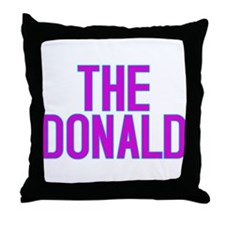 The Donald Election Shirts Throw Pillow
