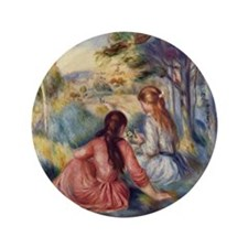 """In the meadow 3.5"""" Button (100 pack)"""