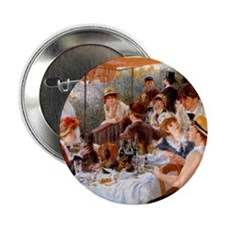 """Luncheon of the Boating Party 2.25"""" Button"""