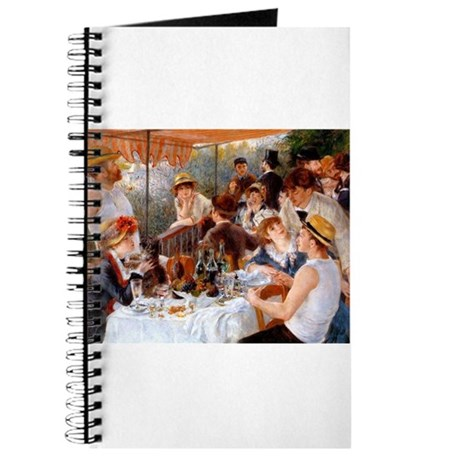 Luncheon of the Boating Party Journal