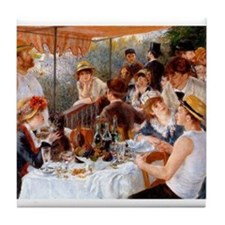 Luncheon of the Boating Party Tile Coaster