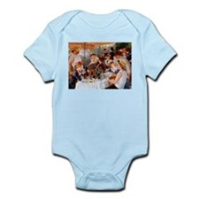 Luncheon of the Boating Party Infant Bodysuit