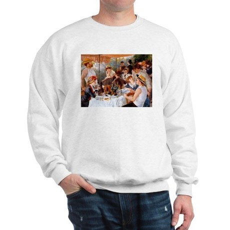 Luncheon of the Boating Party Sweatshirt