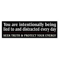 Protect Your Energy ~ Car Sticker