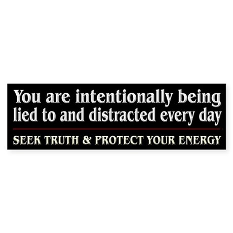 Protect Your Energy ~ Sticker (Bumper)