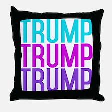 TRUMP TRUMP TRUMP Throw Pillow