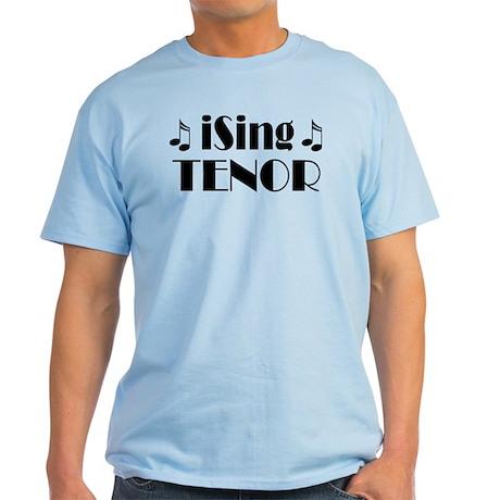 iSing Tenor Music Light T-Shirt