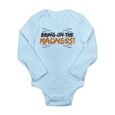 Bring on March Madness Long Sleeve Infant Bodysuit