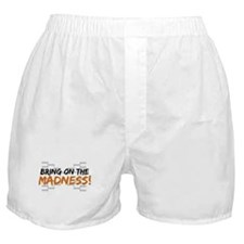 Bring on March Madness Boxer Shorts