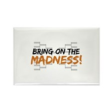 Bring on March Madness Rectangle Magnet (10 pack)