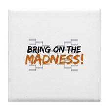 Bring on March Madness Tile Coaster