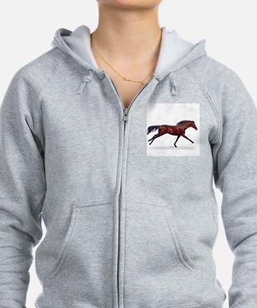 May Horse Be With You Zip Hoodie (F&B)