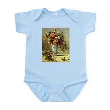 Roses and Jasmine Infant Bodysuit