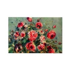 Roses of Vargemont Rectangle Magnet