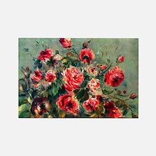 Roses of Vargemont Rectangle Magnet