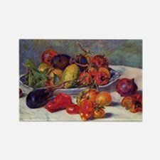 Still Life With Fruit Rectangle Magnet (100 pack)