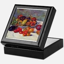 Still Life With Fruit Keepsake Box