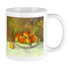 Still Life with Peaches Mug