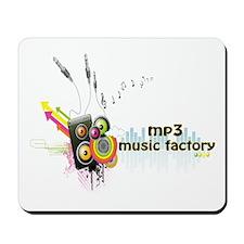 mp3 music factory Mousepad