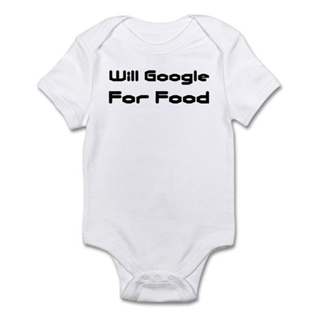 Will Google For Food Infant Creeper