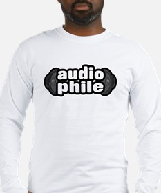 """The Audiophile"" Long Sleeve T-Shirt"