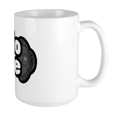 """The Audiophile"" Large Mug"