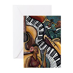 All That Jazz Greeting Cards (Pk of 10)