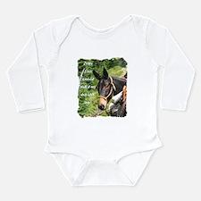 Mule Long Sleeve Infant Bodysuit