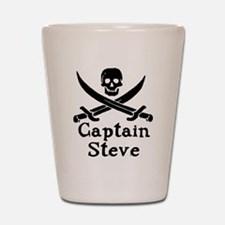 Captain Steve Shot Glass