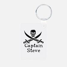 Captain Steve Keychains