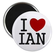 I Heart Ian Magnet