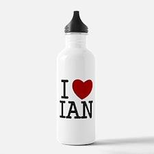 I Heart Ian Water Bottle