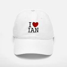 I Heart Ian Baseball Baseball Cap