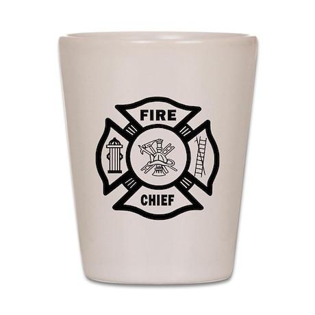 Fire Chief Shot Glass